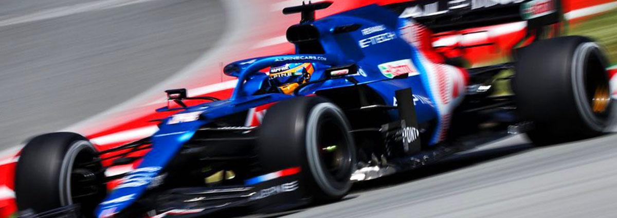 Fernando Alonso banner
